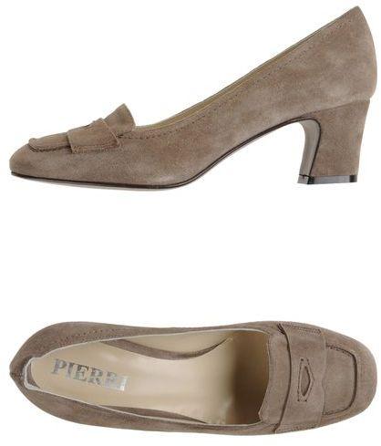 PIERRI Moccasins with heel