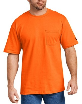 Dickies Big and Tall Men's Short Sleeve Enhanced Visibility T-Shirt, 2-Pack
