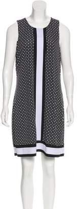 MICHAEL Michael Kors Michael Kors Printed Sleeveless Dress