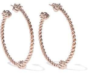 Aurelie Bidermann Palazzo Rose Gold-Tone Hoop Earrings