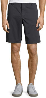 John Varvatos Linen-Blend Casual Shorts
