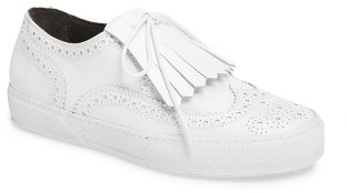 Women's Robert Clergerie Tolka Kiltie Sneaker $495 thestylecure.com