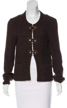 Tory Burch Wool-Blend Knit Cardigan