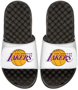 ISlide Men's NBA Los Angeles Lakers Primary Slide Sandals, White
