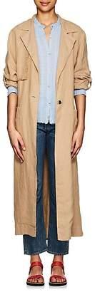 Raquel Allegra Women's Linen Trench Coat