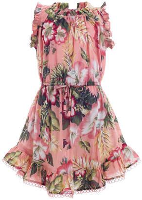 Zimmermann Kids Kali Tropical Dress