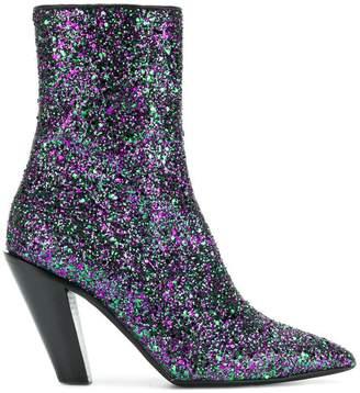 A.F.Vandevorst glitter boots