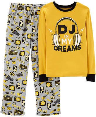 Carter's Long Sleeve Top & Pant 2-Pc. Pajama Set - Preschool Boys