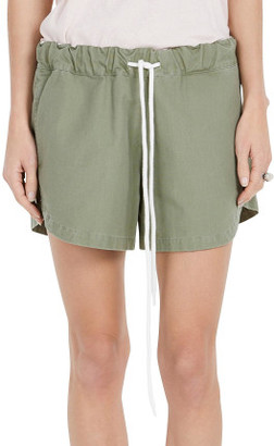 Bassike Cotton Canvas Mini Short