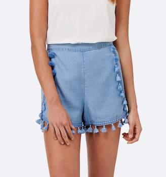 Inka Tassel Trim Shorts