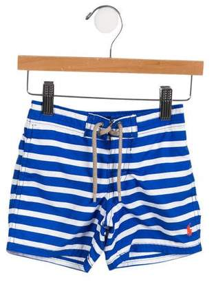 Polo Ralph Lauren Boys' Striped Swimsuit Bottoms