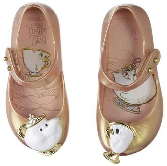 Mini Melissa Mini Ultragirl Beauty and The Beast Girl's Shoes