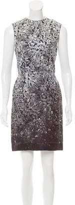 Lanvin Jewel Print Sleeveless Dress w/ Tags