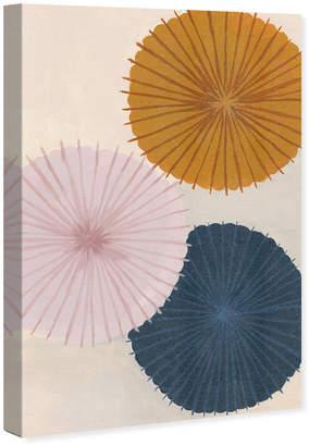 Oliver Gal Retro Umbrellas Canvas Art By The Artist Co.