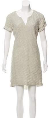 Public School Short Sleeve Mini Dress
