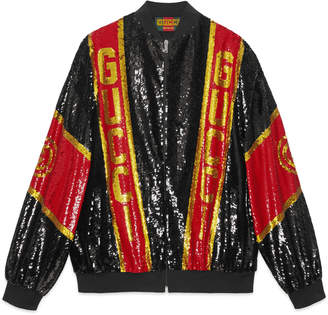 Gucci Dapper Dan sequin jacket