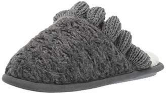 0df0ba4a8e1 Nine West Women s Textured Knit Closed Toe Scuff with Ruffle Slipper S  Regular US