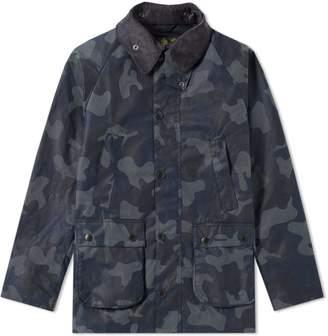Barbour Heritage Waxed Camo SL Bedale Jacket