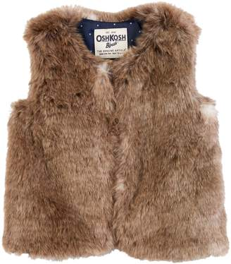 Osh Kosh Oshkosh Bgosh Toddler Girl Faux-Fur Vest