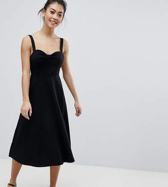 Asos Midi Cotton Sundress with Cups