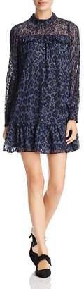 Kate Spade Metallic Leopard-Print Dress
