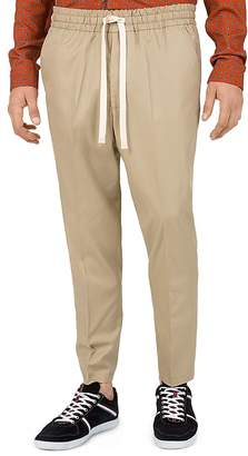 The Kooples Royal Cropped Regular Fit Chino Pants