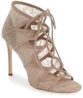 Pour La Victoire Elery Lace-Up Sandal $325 thestylecure.com