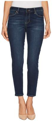 Liverpool Petite Piper Hugger Ankle Skinny with Shaping and Slimming Four-Way Stretch Denim in Lynx Wash Women's Jeans