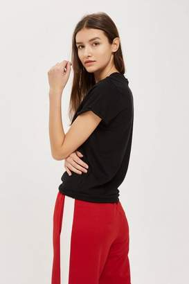 Topshop Tall Roll Back T-Shirt