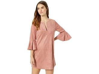 BCBGMAXAZRIA Catier Faux-Suede Dress Women's Clothing