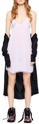 Zadig & Voltaire Carolina Silk Slip Dress