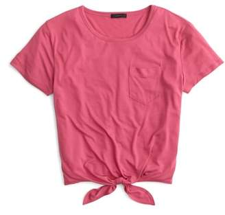 J.Crew Knotted Pocket Tee