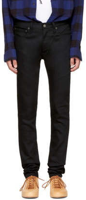 Wacko Maria Black Skinny Stretch Jeans