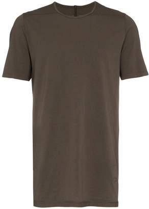 Rick Owens dark dusk Level short sleeve cotton t shirt
