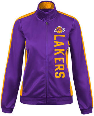 G-iii Sports Women Los Angeles Lakers Backfield Track Jacket