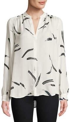 Joie Mintee Silk Printed Shirt