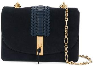 Altuzarra woven panel chain shoulder bag