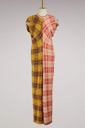 Marni Long short-sleeved dress