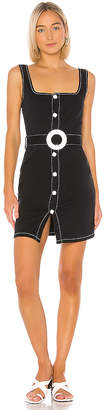 Solid & Striped Button Up Belt Dress.