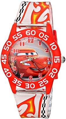 Disney Kids' W001681 Lightning McQueen Plastic Watch