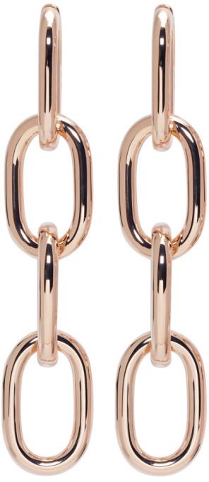 Alexander WangAlexander Wang Gold Four-Link Chain Earrings