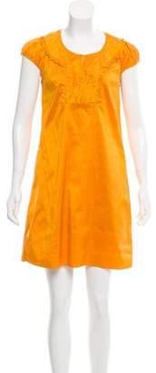 Calypso Christian Celle Silk Shift Dress
