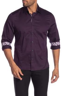 TR Premium Solid Long Sleeve Slim Fit Shirt