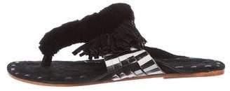Figue Salome Pom-Pom Sandals w/ Tags