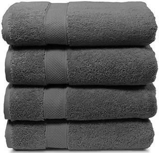 4 Piece Bath Towel Set. 2017(New Collection).Premium Quality Turkish Towels. Super Soft