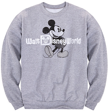 Disney Mickey Mouse Sweatshirt for Adults - Walt World