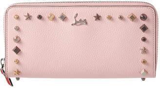 Christian Louboutin Panettone Leather Ziparound Wallet