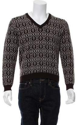 Etro Wool Patterned Sweater