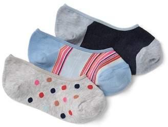 Gap Print no-show socks (3-pairs)