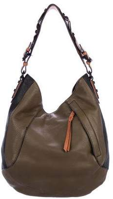 Oryany Tricolor Leather Hobo
